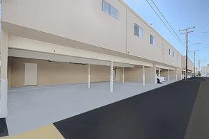 Garage parking carports